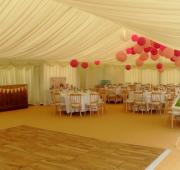 Frame marquee interior